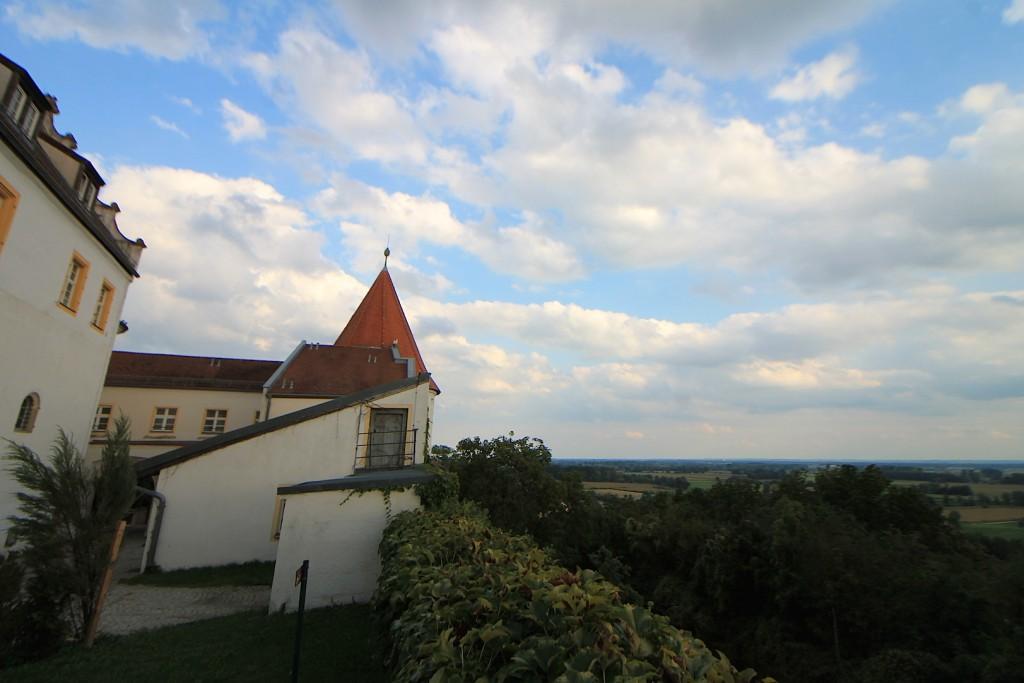 Aussicht von Schloss Wörth / Foto: Burgerbe.de