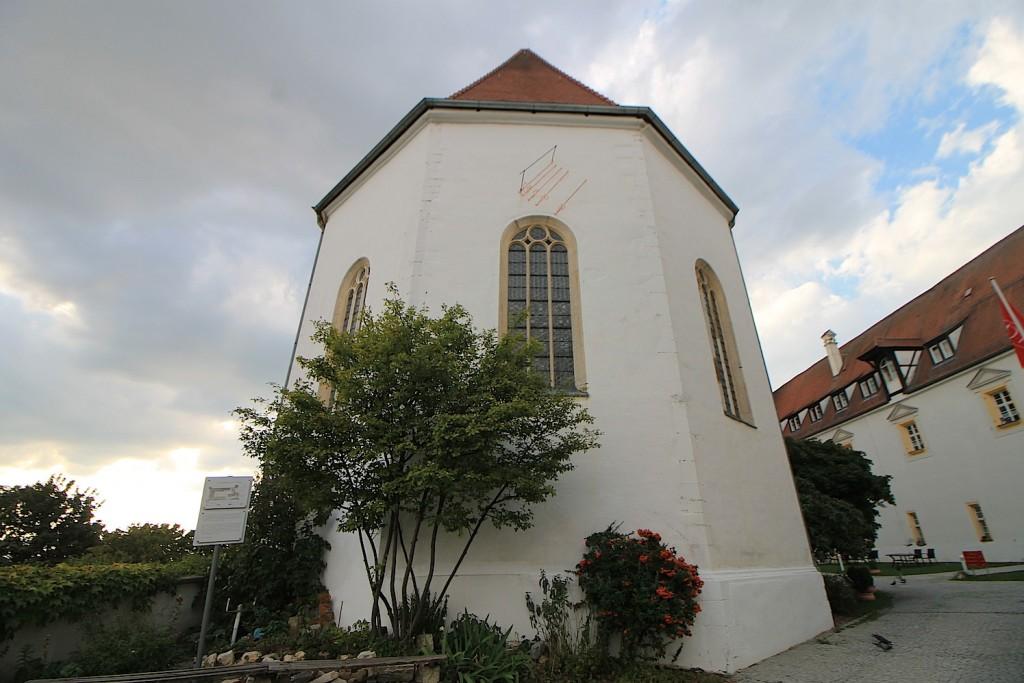 Rückseite der Kapelle / Foto: Burgerbe.de