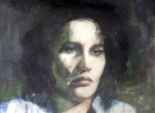 Nachempfundenes Porträt Anna Göldis von Patrick Lo Giudice. Das Bild im Anna-Göldi-Museum, Mollis, ist orientiert an der Titelfigur des Films