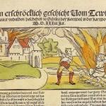 Scheiterhaufen auf Burg Hexenturm