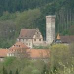 Brand im Schloss Bödigheim im März 2017: 50.000 Euro Schaden