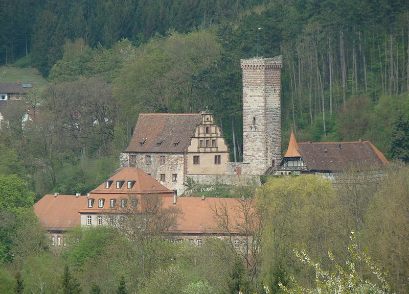 Schloss Bödigheim mit Burg