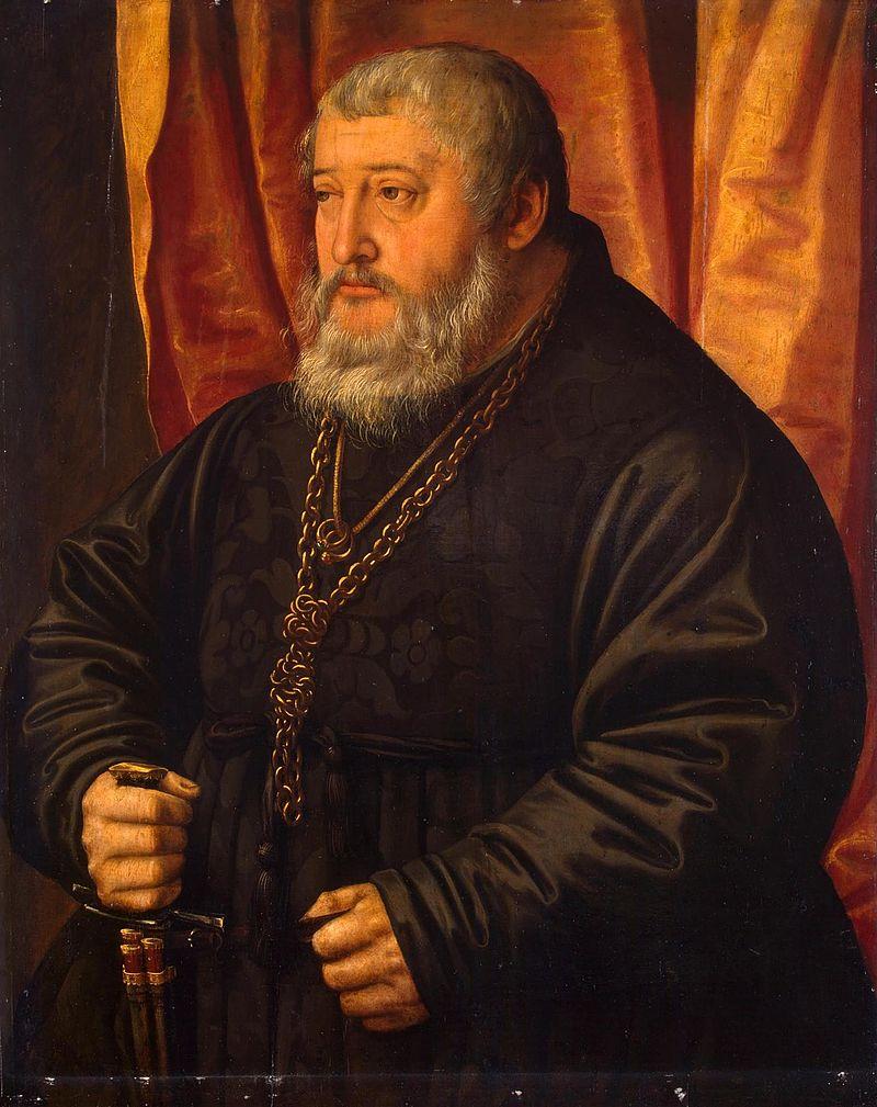 Pfalzgraf Ottheinrich wog in späteren Jahren fast 200 Kilo / Bild: gemeinfrei