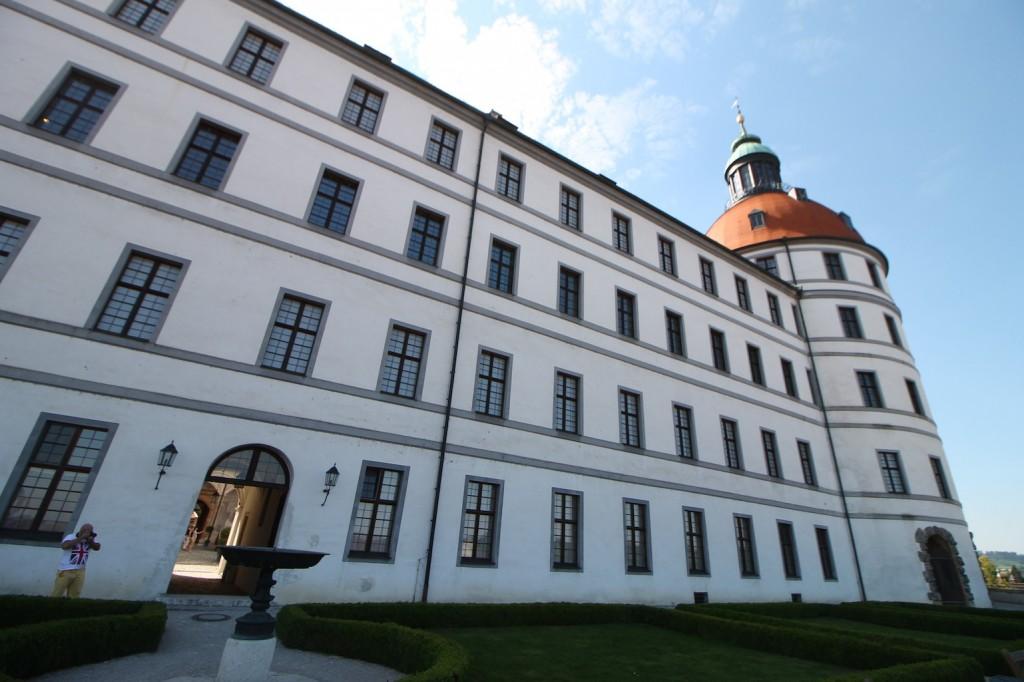 Schloss Neuburg: Heute ein Barockschloss