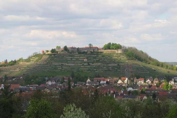 Die Festung Hohenasperg / Foto (auch Foto oben): Foto: Wikipedia / Mussklprozz / CC-BY-SA 3.0