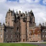Britische Krönungs-Ausstellung auf Glamis Castle