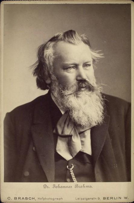 Johannes Brahms im Jahr 1889 / Bild: gemeinfrei