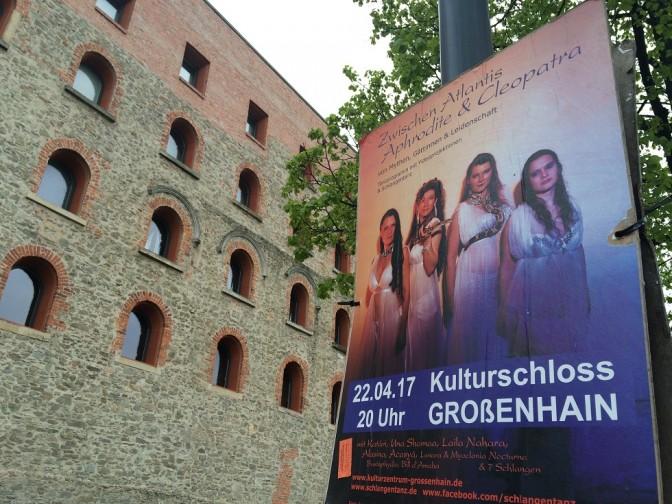 Das kultrurelle Angebot im Schloss Großenhain ist heute recht breit