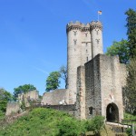 Die Kasselburg und ihr doppelter Wohnturm