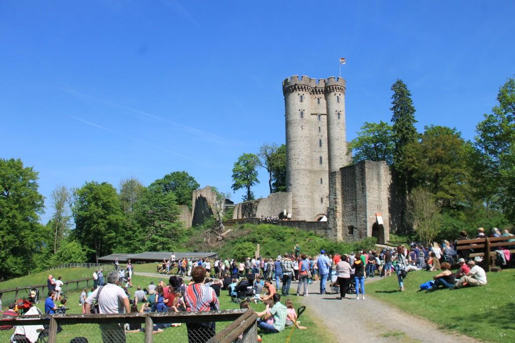 Beim Mittelalterfest im Mai...