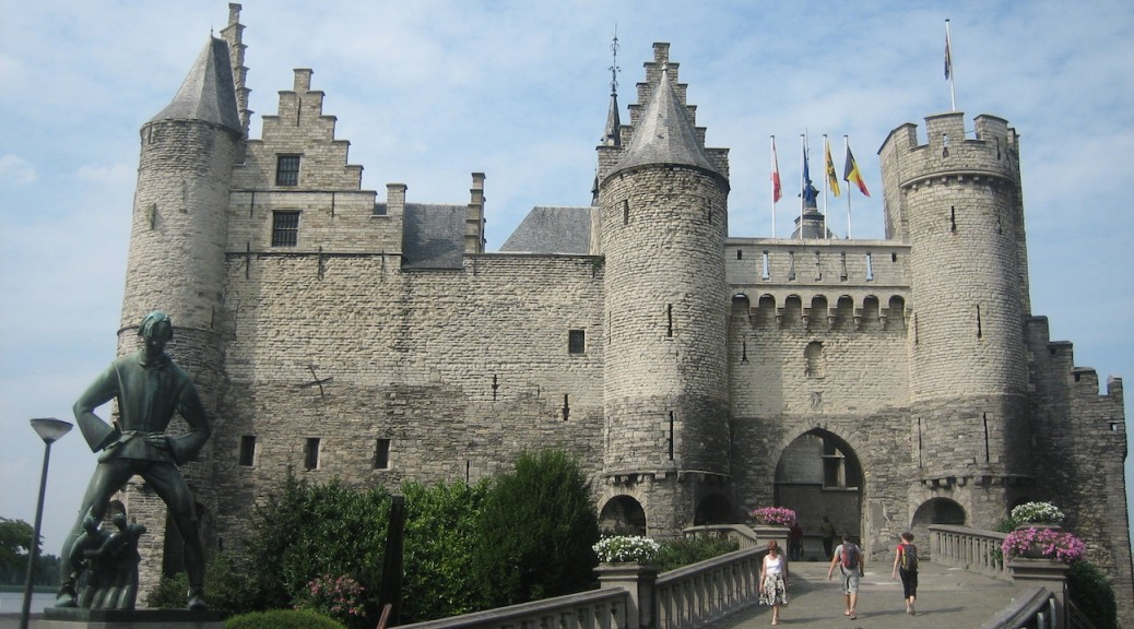 Burg Het Steen in Antwerpen