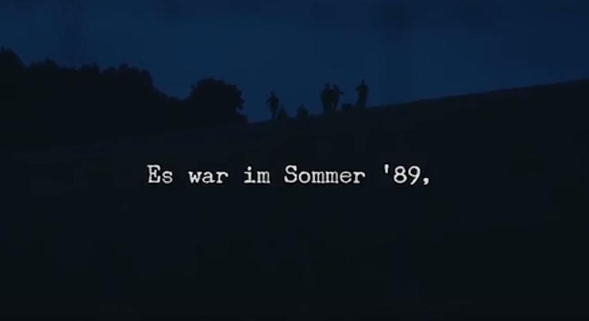 Sommer 89 (Er schnitt Löcher in den Zaun)