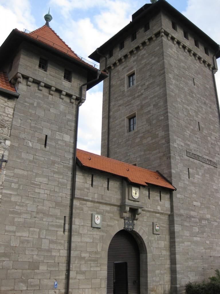 Türme und Tor der Wachsenburg (alles aus den Jahren nach 1900)