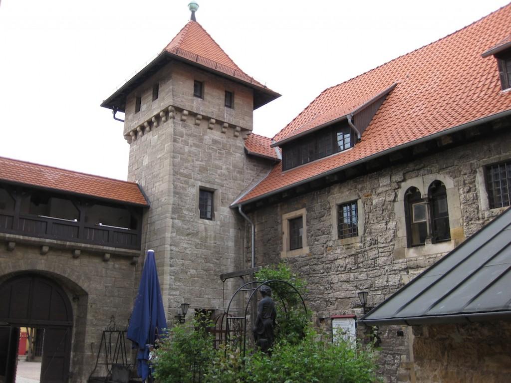 Innenhof der Wachsenburg