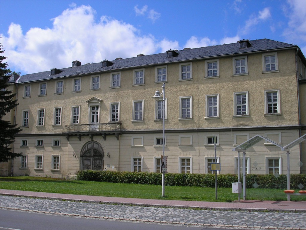 Schloss Ebersdorf, Südseite / Foto (und Foto oben): Wikipedia / Michael Sander / CC-BY-SA 3.0