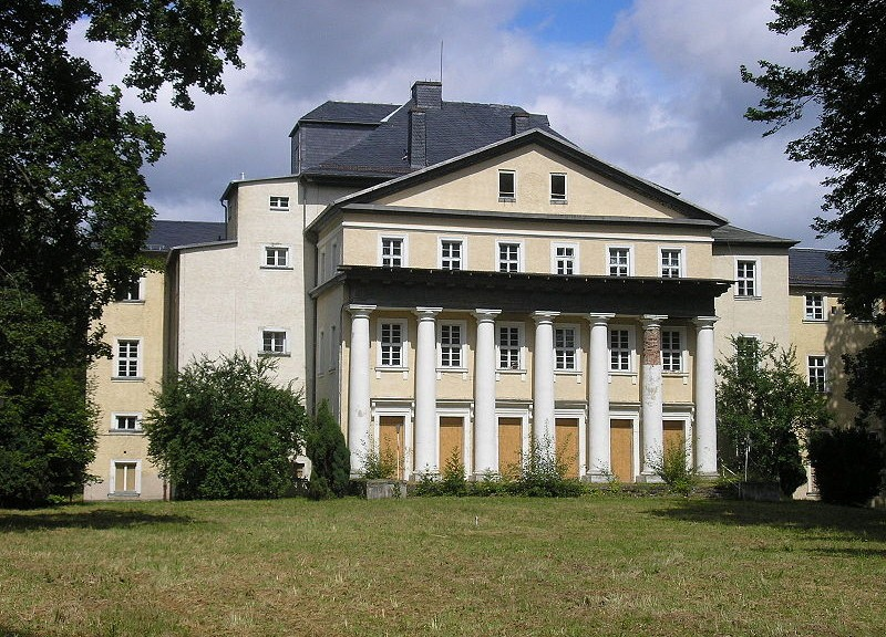 Schloss Ebersdorf / Foto: Wikipedia / Michael Sander / CC-BY-SA 3.0