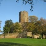 Burg Steinsberg: Achteckiger Bergfried wird saniert