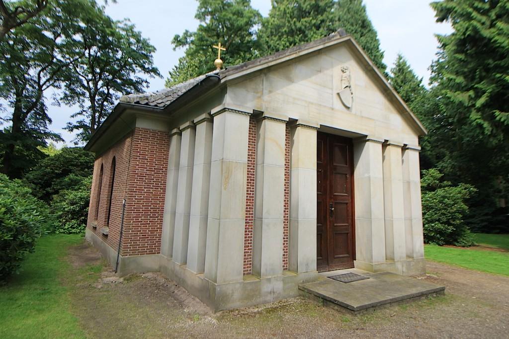 Letzte Ruhestätte von Wilhelm II. im Schlosspark von Doorn in den Niederlanden / Foto: Burgerbe