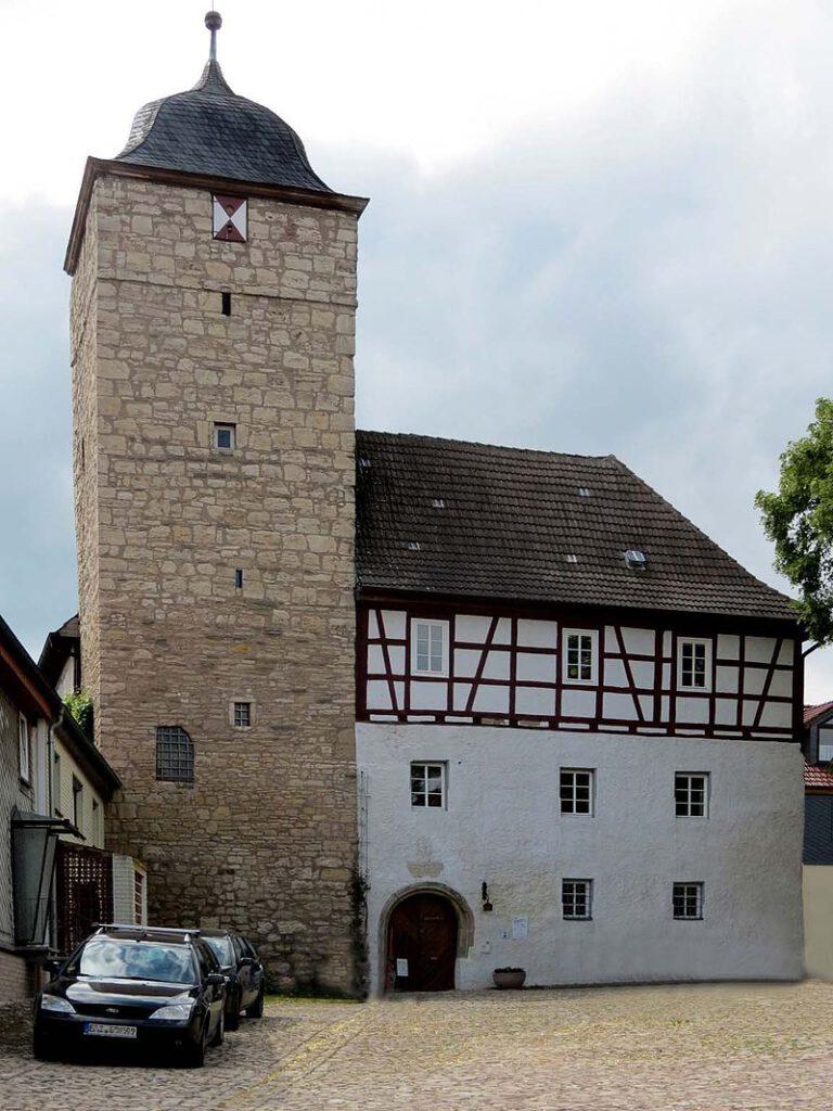 Burg Grossbodungen / Foto: MacElch / CC-BY-SA 3.0