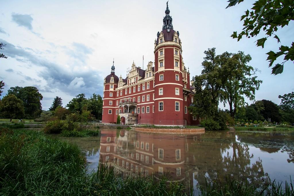 Neues Schloss Muskau: Im Film Sitz der Königin / Foto: Wikipedia / Hedwig Storch / CC-BY-SA 3.0