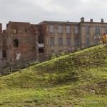 Ruine von Schloss Zerbst wird gesichert