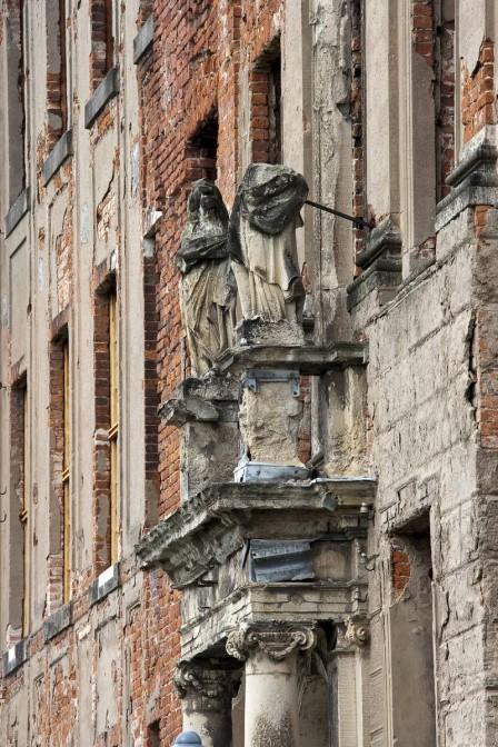 Die Fassade von Schloss Zerbst Fotos: © Deutsche Stiftung Denkmalschutz/Bolz