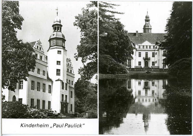 Eine Postkarte vom Schloss aus dem Jahr 1988 / Foto: Wikipedia / Brück & Sohn Kunstverlag Meißen / CC-BY-SA 3.0