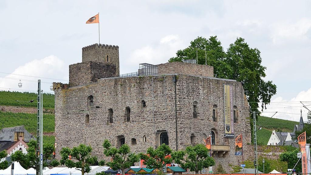 Die Brömserburg / Foto: Wikipedia / Alexander Hoernigk / CC-BY-SA 3.0