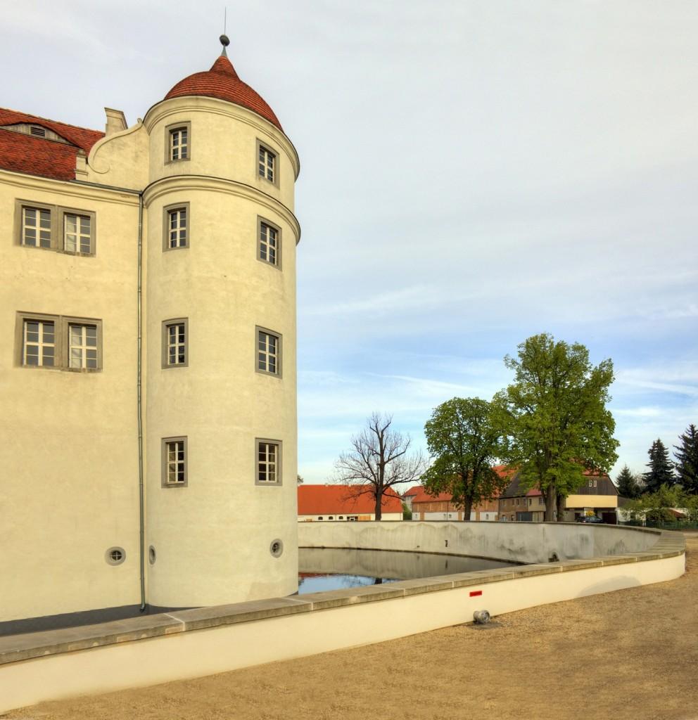 Schloss Großkmehlen ist immer noch ein Wasserschloss / Foto: Wikipedia / Radler59 / CC-BY-SA3.0