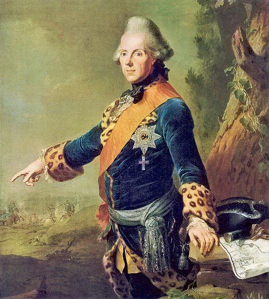 Prinz Heinrich von Preußen kaufte Schloss Meseberg für seinen Liebhaber / Bild von 1769: gemeinfrei