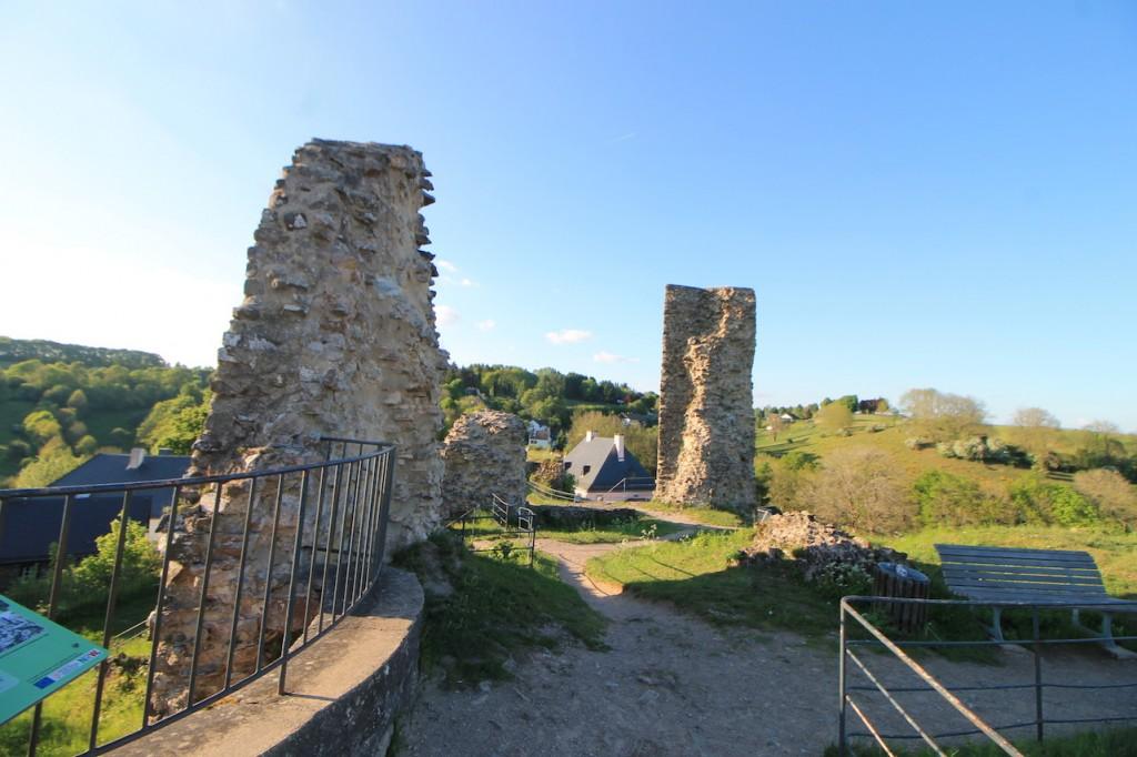 Die Ruine der Kronenburg