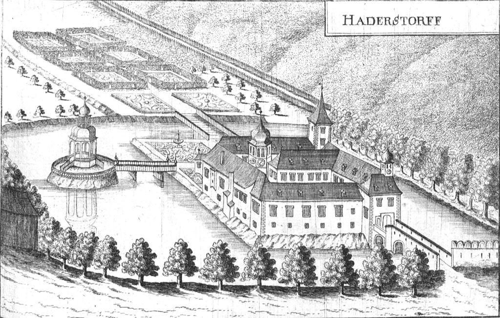 1672: Als Schloss Laudon noch Schloss Hadersdorf hieß / Foto: gemeinfrei