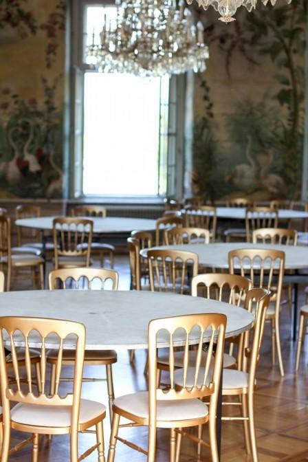 Üppig: Saal im Schloss Laudon / Foto: Wikipedoa / Christian Thalmayr / CC-BY-SA 4.0