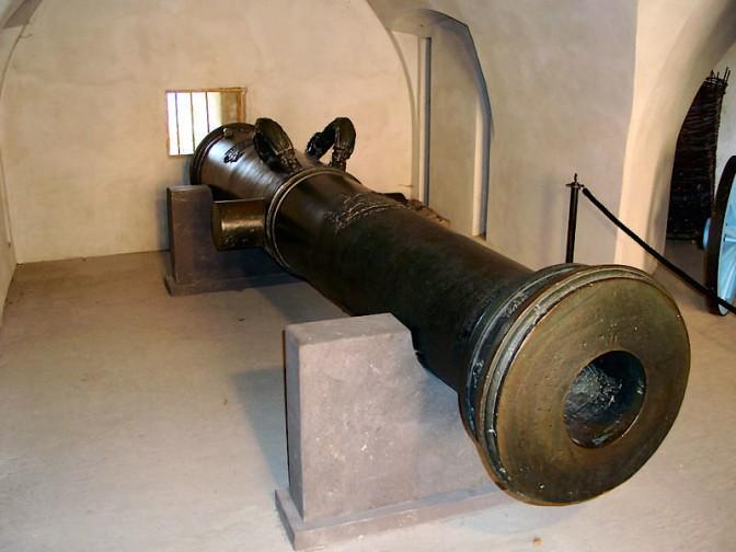 Die Belagerungskanone Greif (Foto: Wikipedia/Holger Weinandt/CC-BY-SA-3.0-DE)