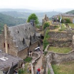 Schloss Veldenz: Schwelbrand schnell gelöscht