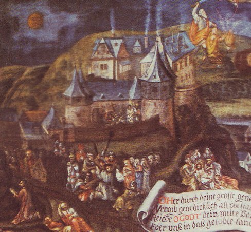 Burg Bilstein im Jahr 1561 / Bild: gemeinfrei