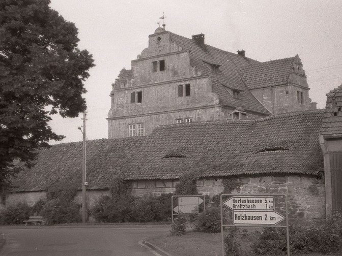 Schloss Nesselröden in den 1960er Jahren. Foto: gemeinfrei