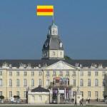 Badische Fahne am Karlsruher Schloss wieder erlaubt