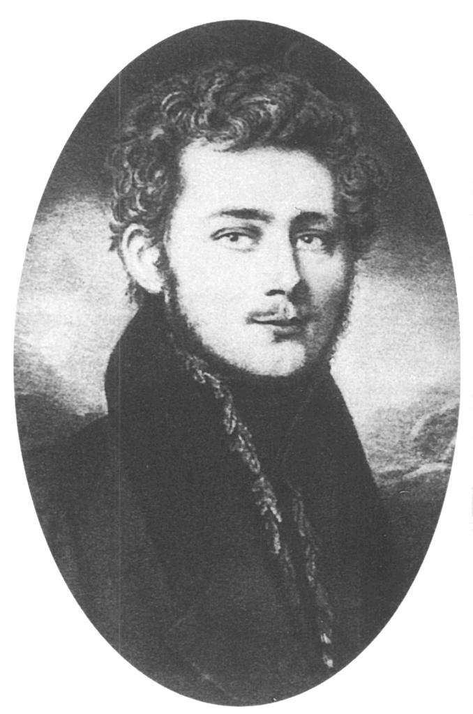 Unternehmer Friedrich Harkort in den 1820er Jahren / Bild: gemeinfrei