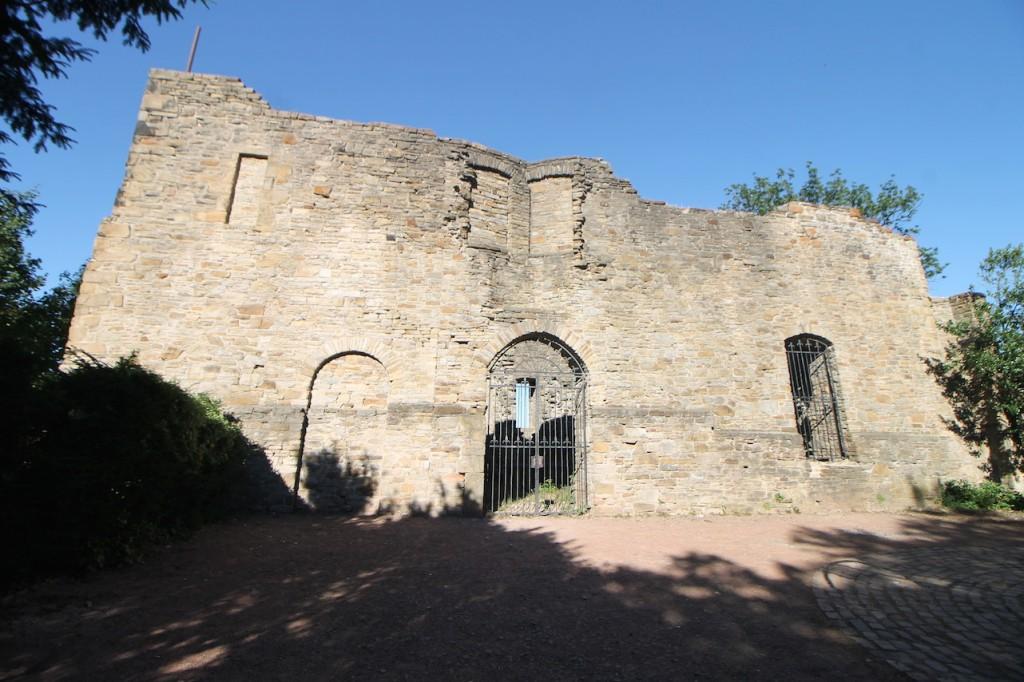 Ruine von Burg Wetter am Harkortsee