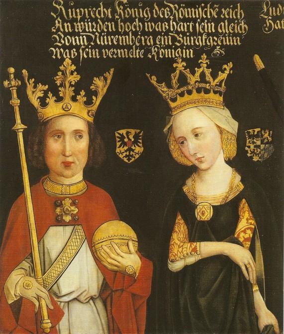 König Ruprecht III. ließ die Burg Mömbris 1405 zerstören / Bild: gemeinfrei