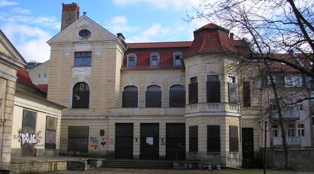 Schloss Einstein-Drehort: Das alte Scbauspielhaus in Erfurt / Foto: Wikipedia / Michael Sander / CC-BY-SA 3.0