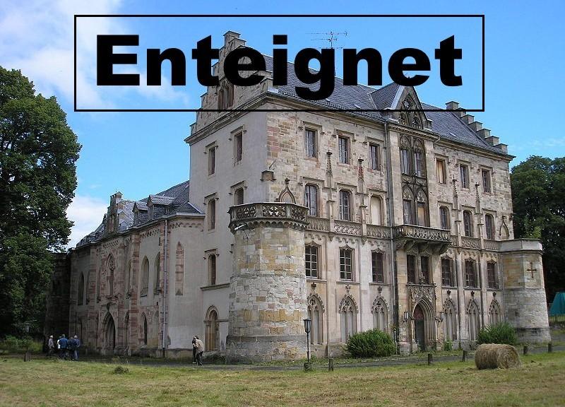 Schloss Reinhardsbrunn enteignet