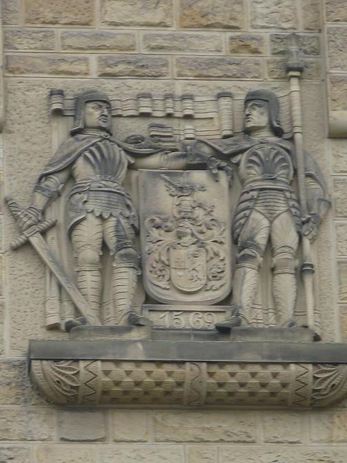 Schloss Waldthausen Wappen
