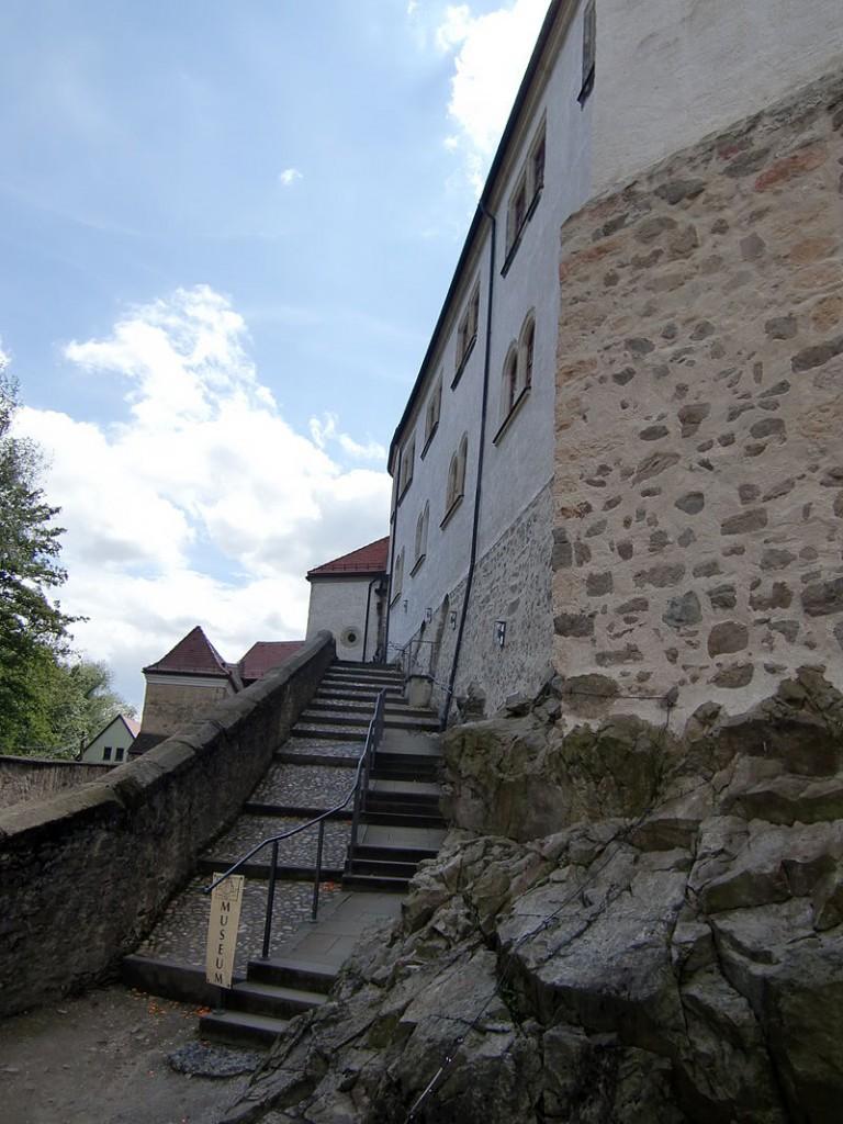 Die Fürstenreittreppe von Schloss Klippenstein / Foto: Wikipedia / Paulis / CC-BY-SA 3.0