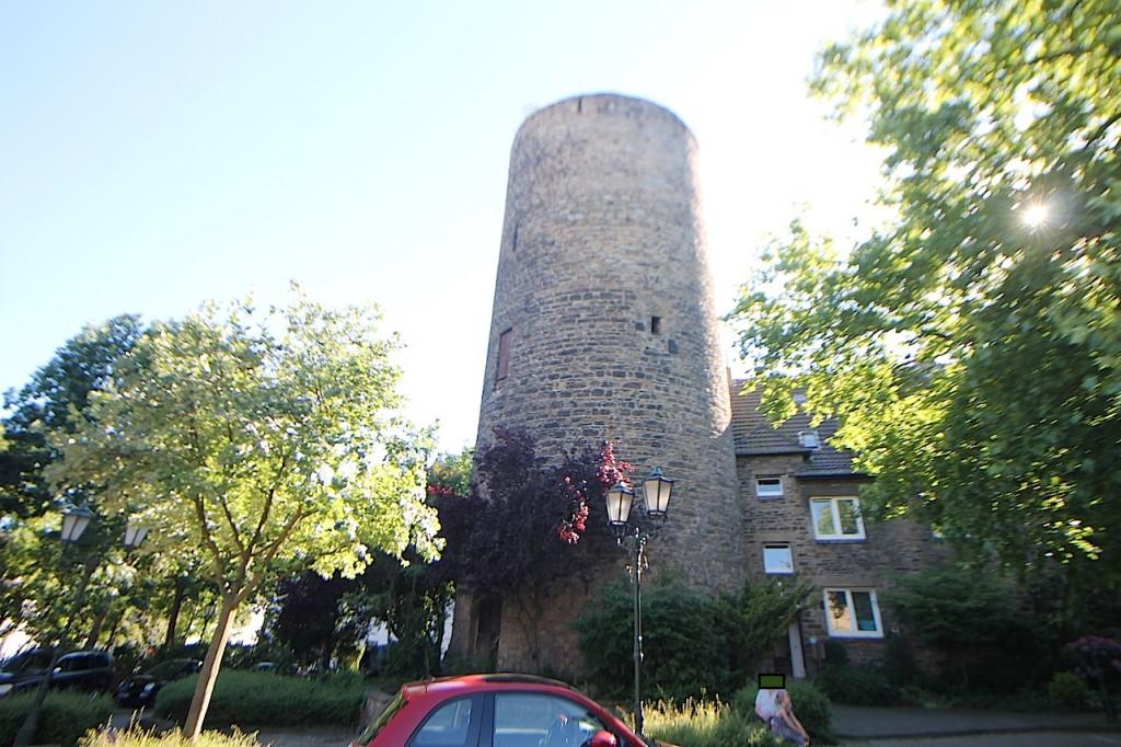 Der Turm von Burg Wetter / Ruhr
