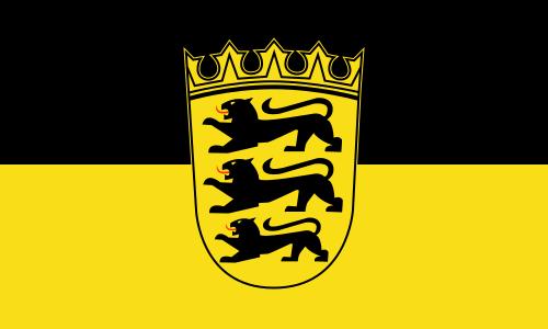 Die Flagge von Baden-Württemberg soll künftig über dem Karlsruher Schloss aufgezogen werden.