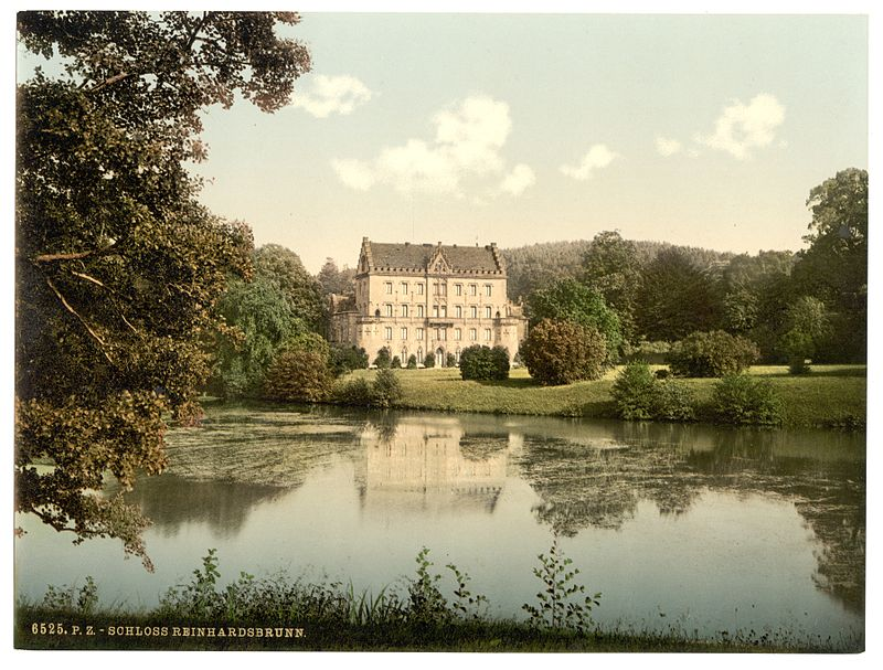Schloss Reinhardsbrunn um 1890
