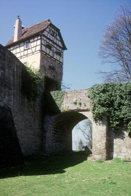 Schloss Stetten; Grüße aus dem Hochmittelalter. / Foto: Wikipedia / AnRo0002 / CC-BY-SA 3.0