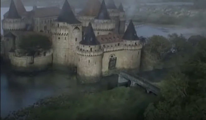 "Burg Schnellwasser (Riverrun) bei ""Game of Thrones"" / Bild; Screenshot Youtube"